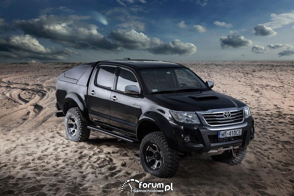 Toyota Hilux Adventure, piasek, off-road, 3