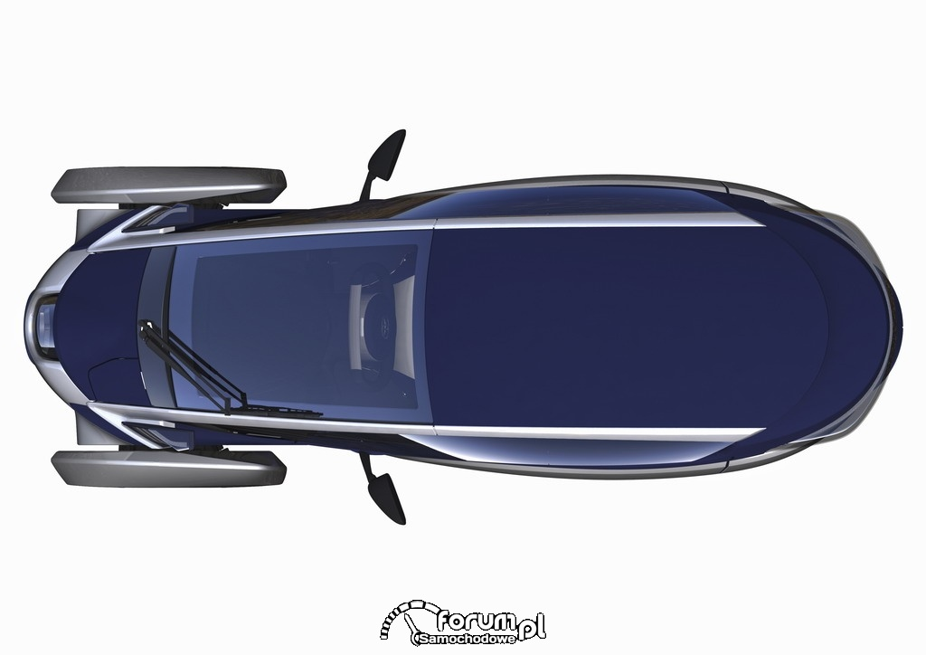 Toyota I-Road, projekt