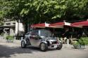 Toyota KIKAI, przed kawiarnią