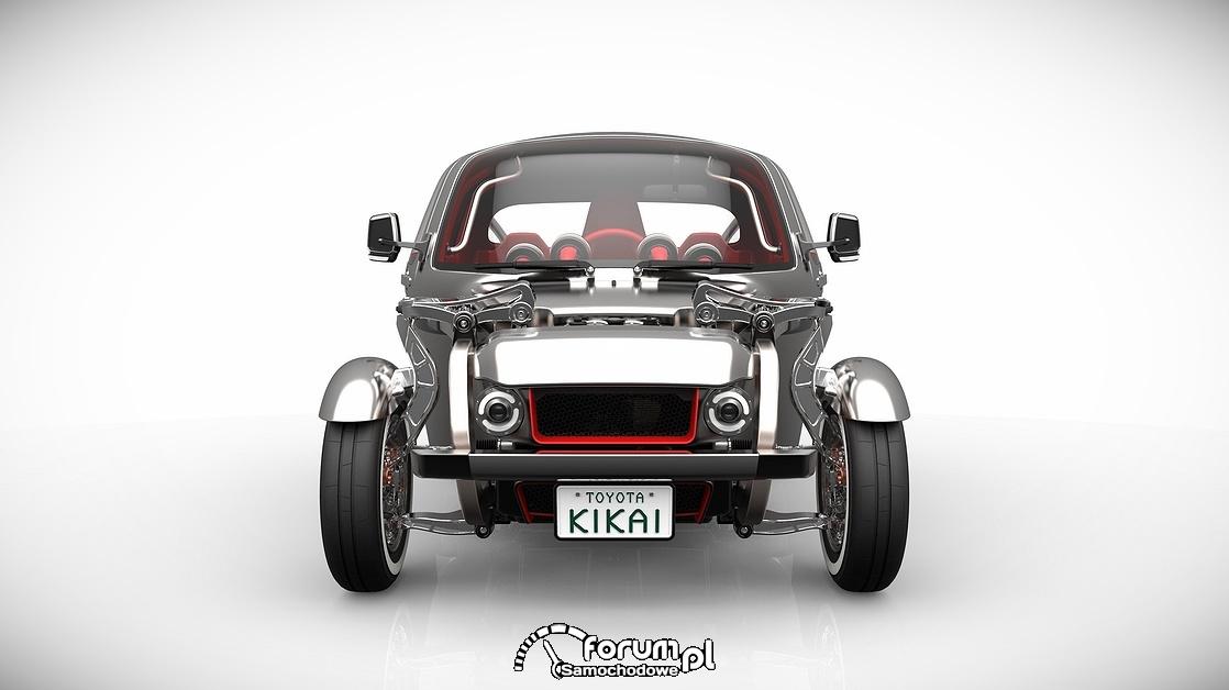 Toyota KIKAI, przód