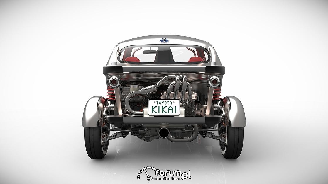 Toyota KIKAI, tył