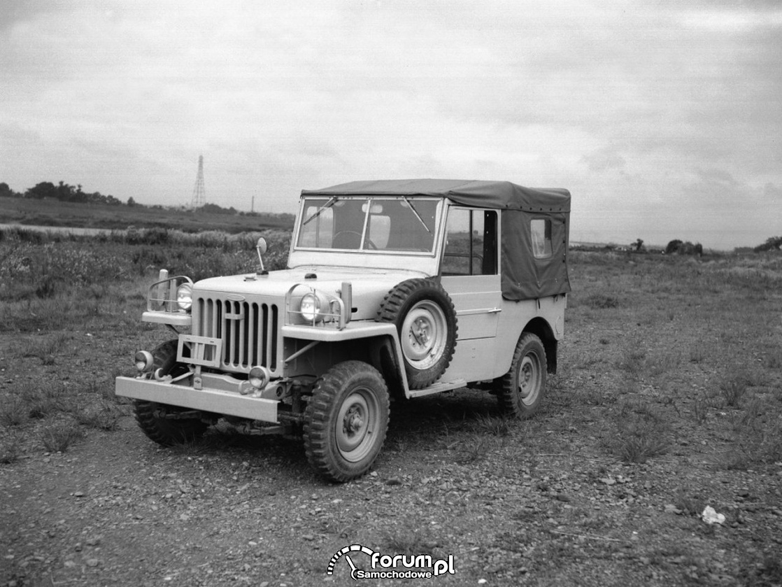 Toyota Land Cruiser 1953 rok