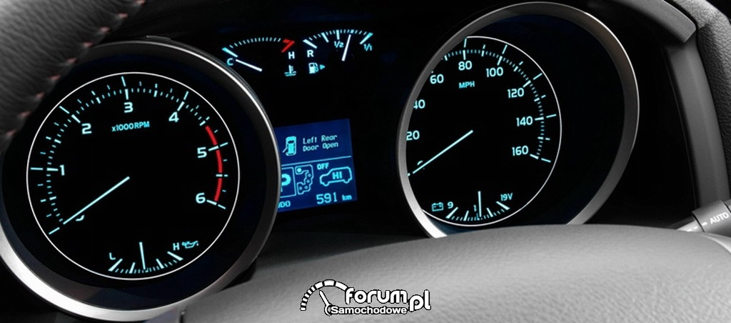 Toyota Land Cruiser V8 - zegary