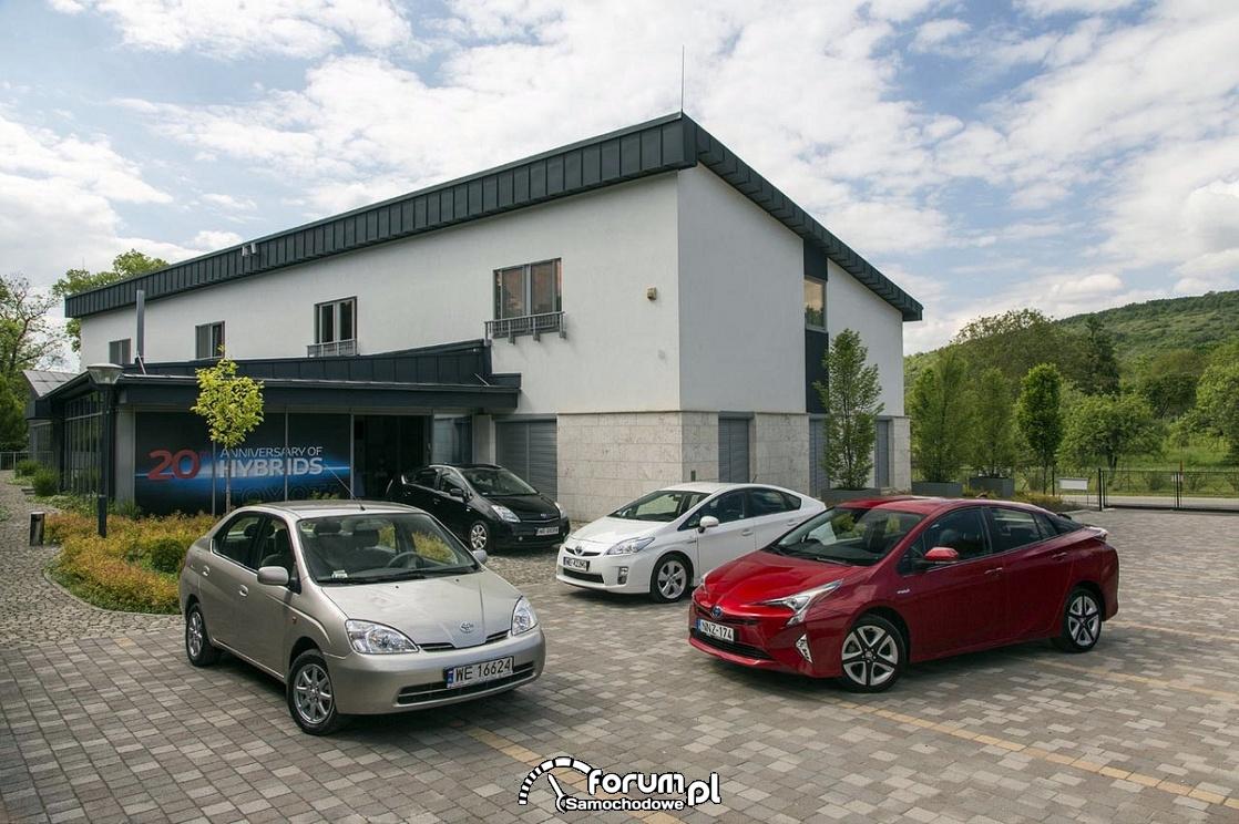 Toyota Prius 4 generacje modelu