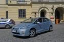 Toyota Prius PHV - Policja - samochód hybrydowy