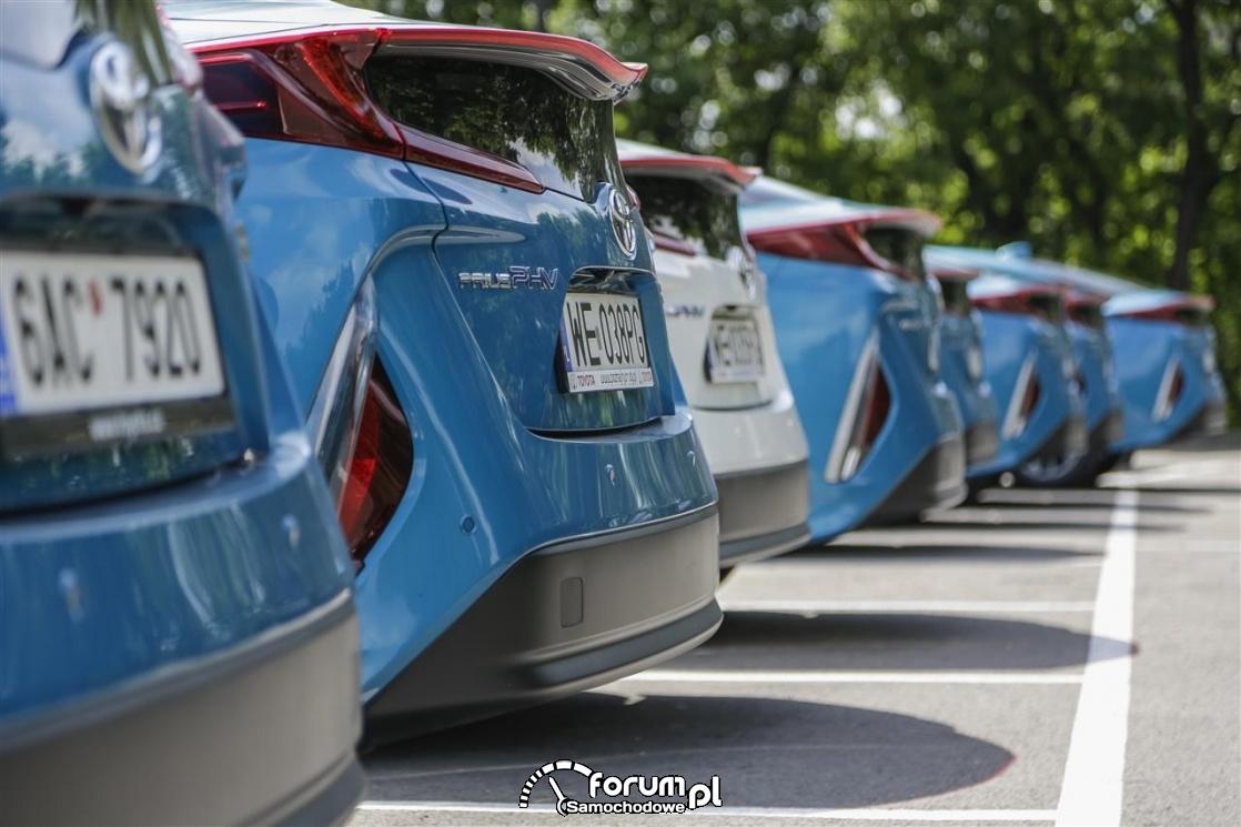 Toyota Prius Plug-in, tył