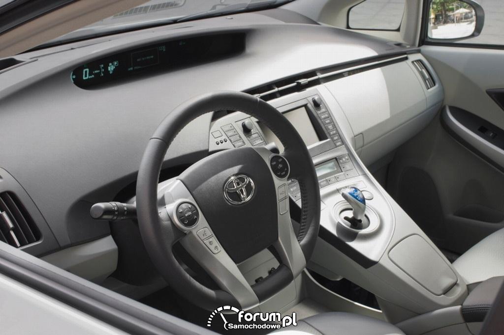 Toyota Prius - wnętrze