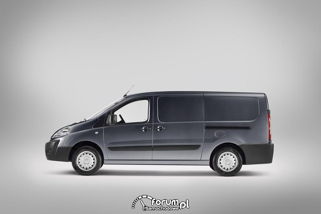 Toyota ProAce, lekki pojazd użytkowy, bok, 2012