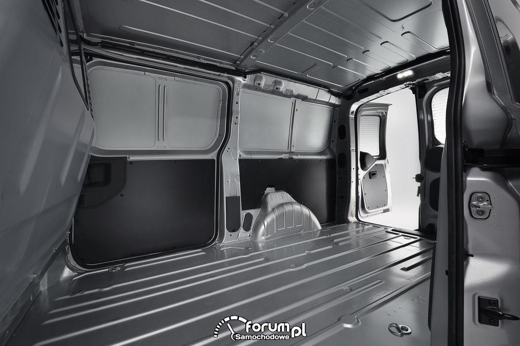Toyota ProAce, lekki pojazd użytkowy, przestrzeń ładunkowa, 2012, 2