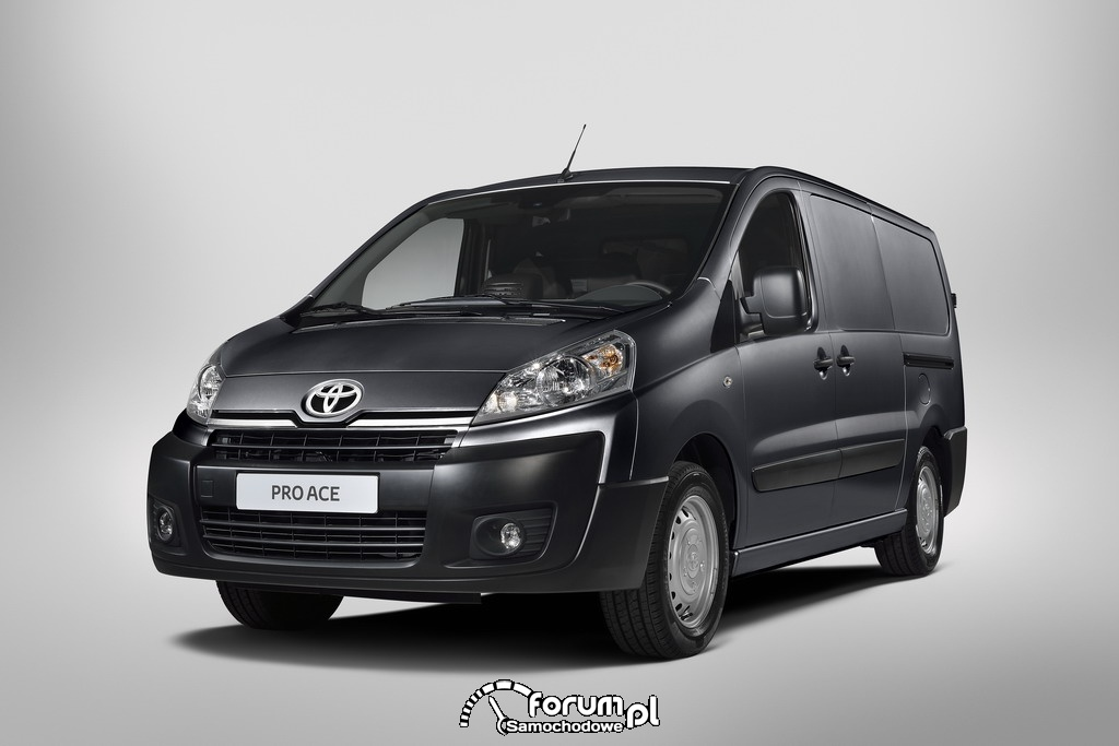 Toyota ProAce, lekki pojazd użytkowy, przód, 2012