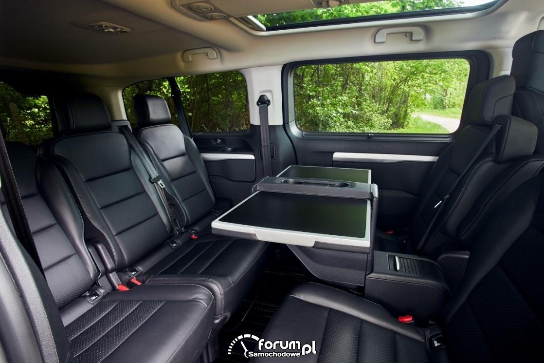 Toyota Proace Selection, wnętrze