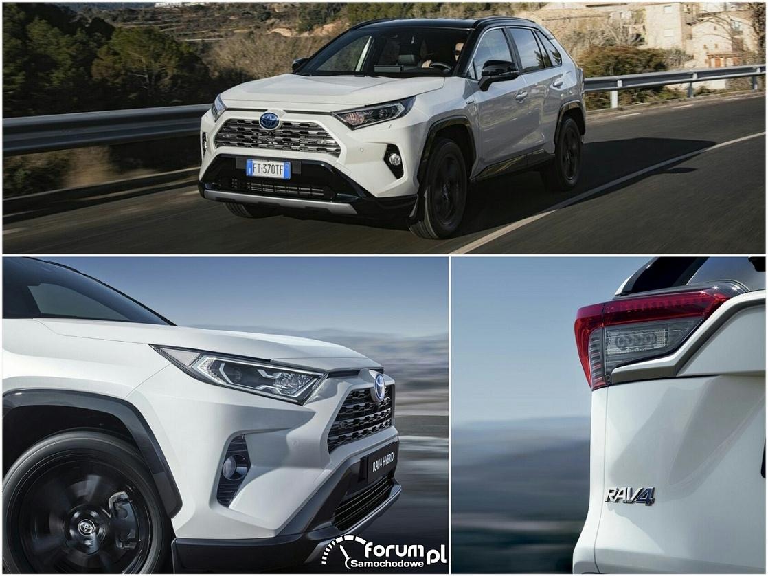 Toyota RAV4 Hybrid zdobywa 5 gwiazdek w ADAC Ecotest
