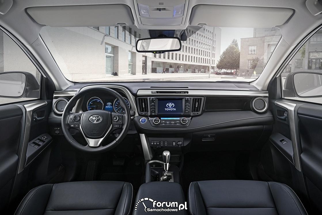 Toyota RAV4 Hybrid, wnętrze