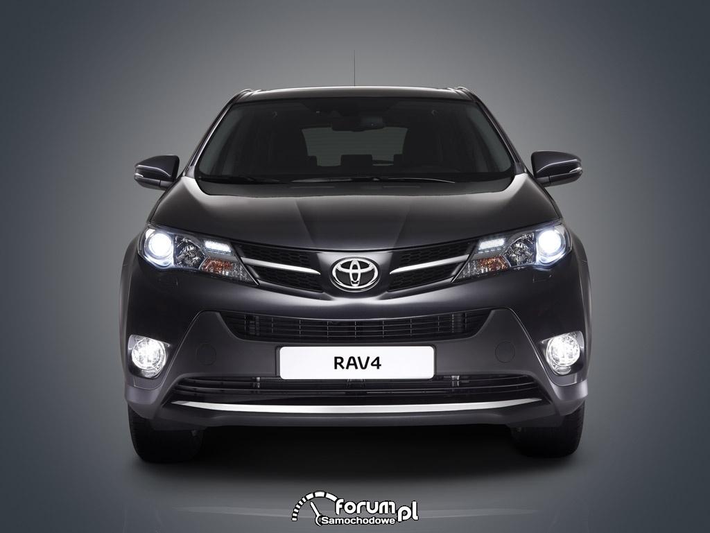 Toyota RAV4, przód, SUV
