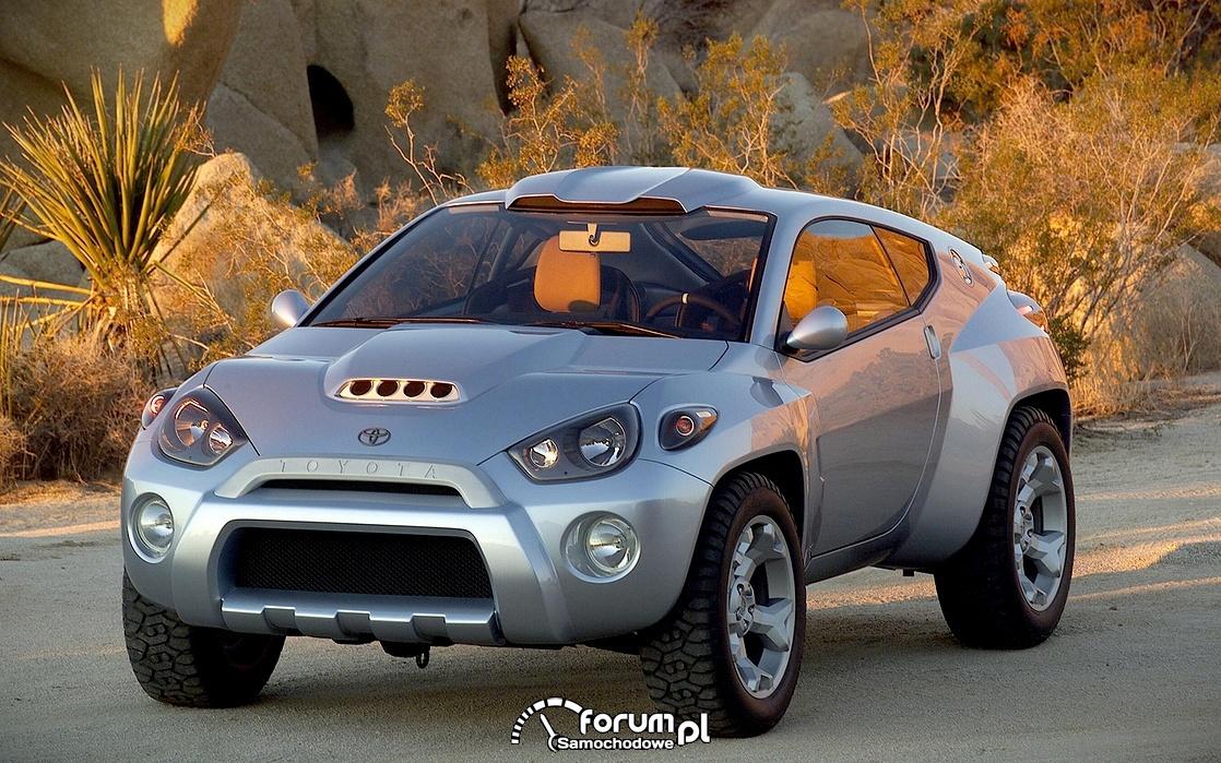 Toyota RSC, przód