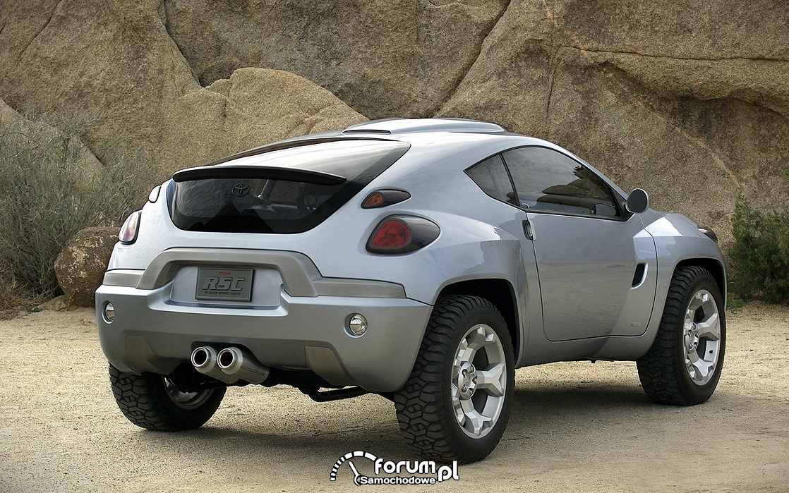 Toyota RSC, tył