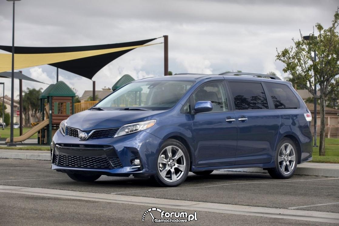 Toyota Sienna SE, 2018