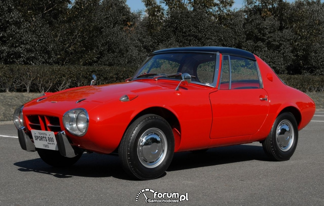 Toyota Sports 800 - 1965 rok