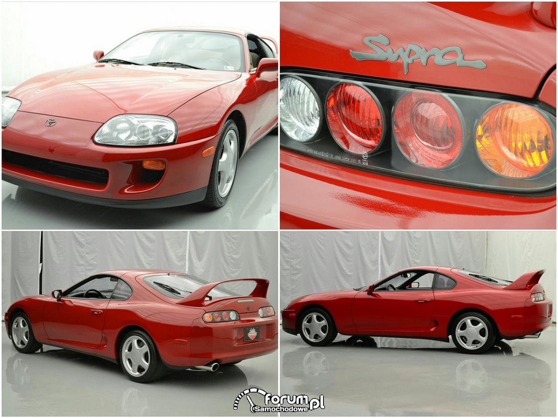 Toyota Supra z 1994 roku sprzedana na aukcji