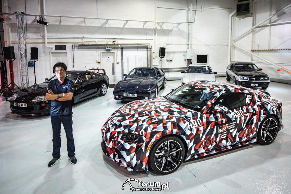 Toyota Supra A90 i poprzednie generacje