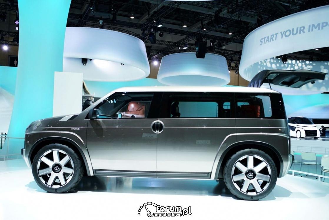 Toyota TJ Cruiser, pomysłowy minivan i SUV w jednym