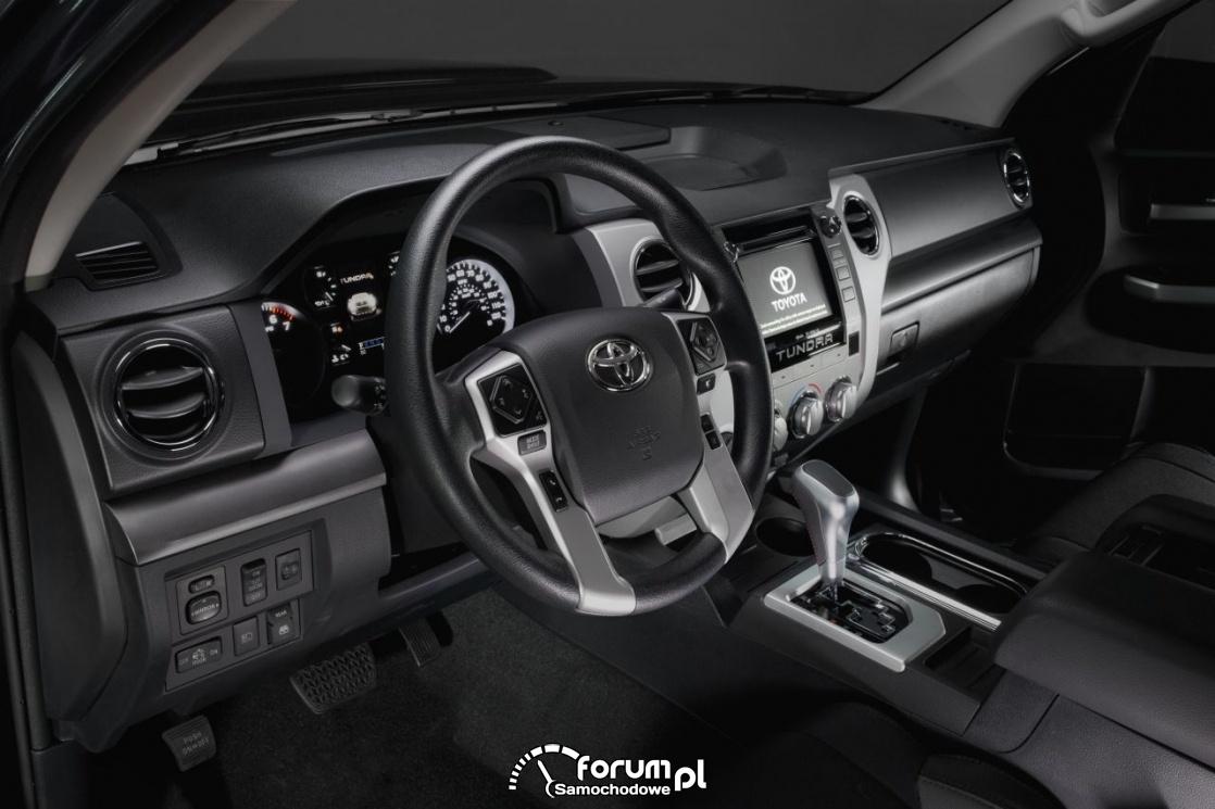 Toyota Tundra TRD Sport, wnętrze