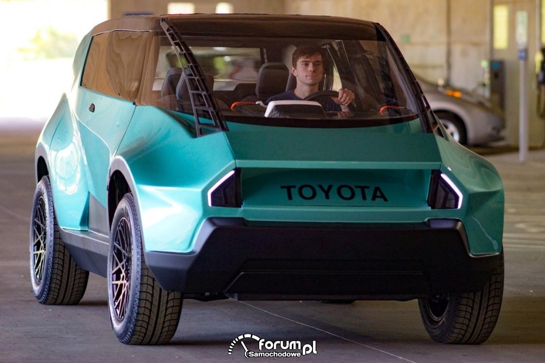 Toyota uBox, przód