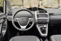 Toyota Verso, deska rozdzielcza, wnętrze, mini van