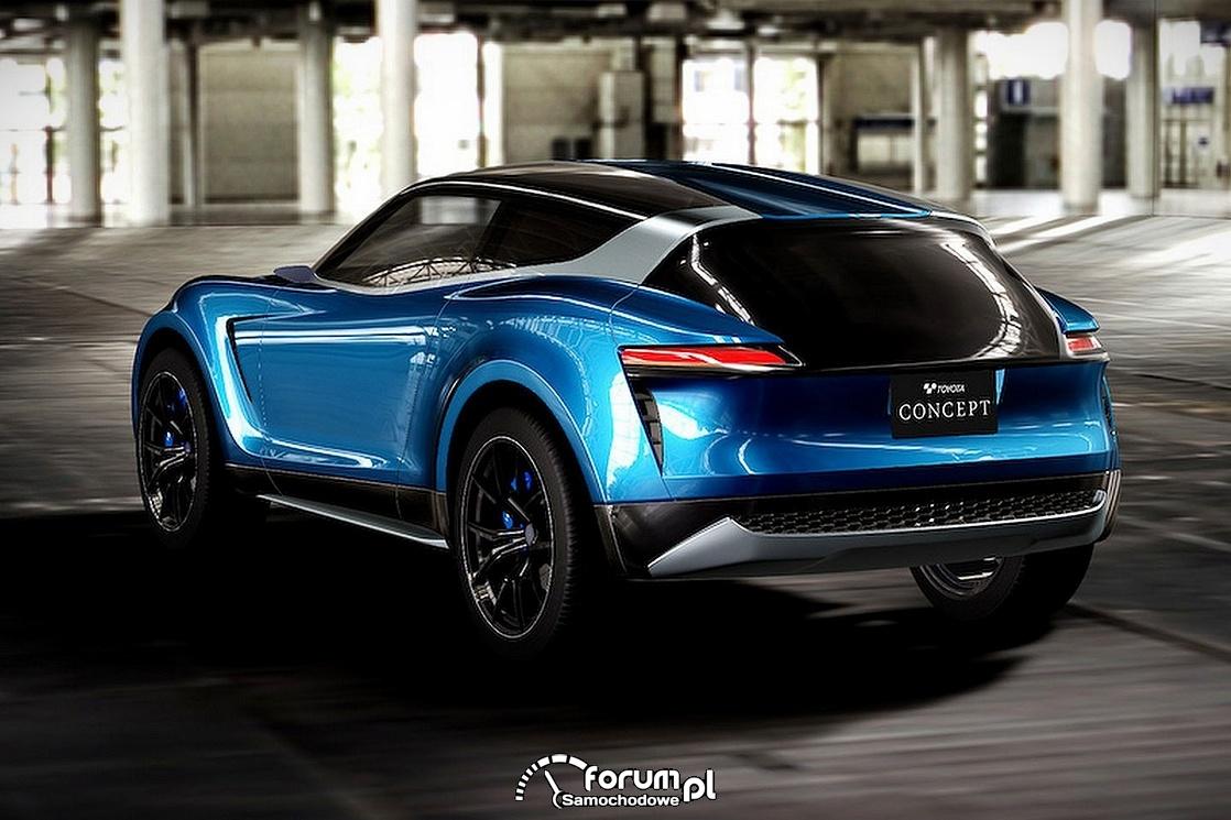Toyota ViRA, concept, tył