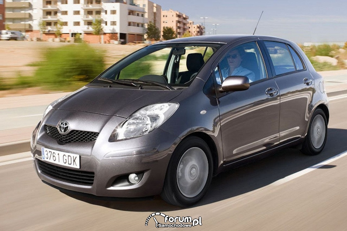 Toyota Yaris facelifting, 2009 rok