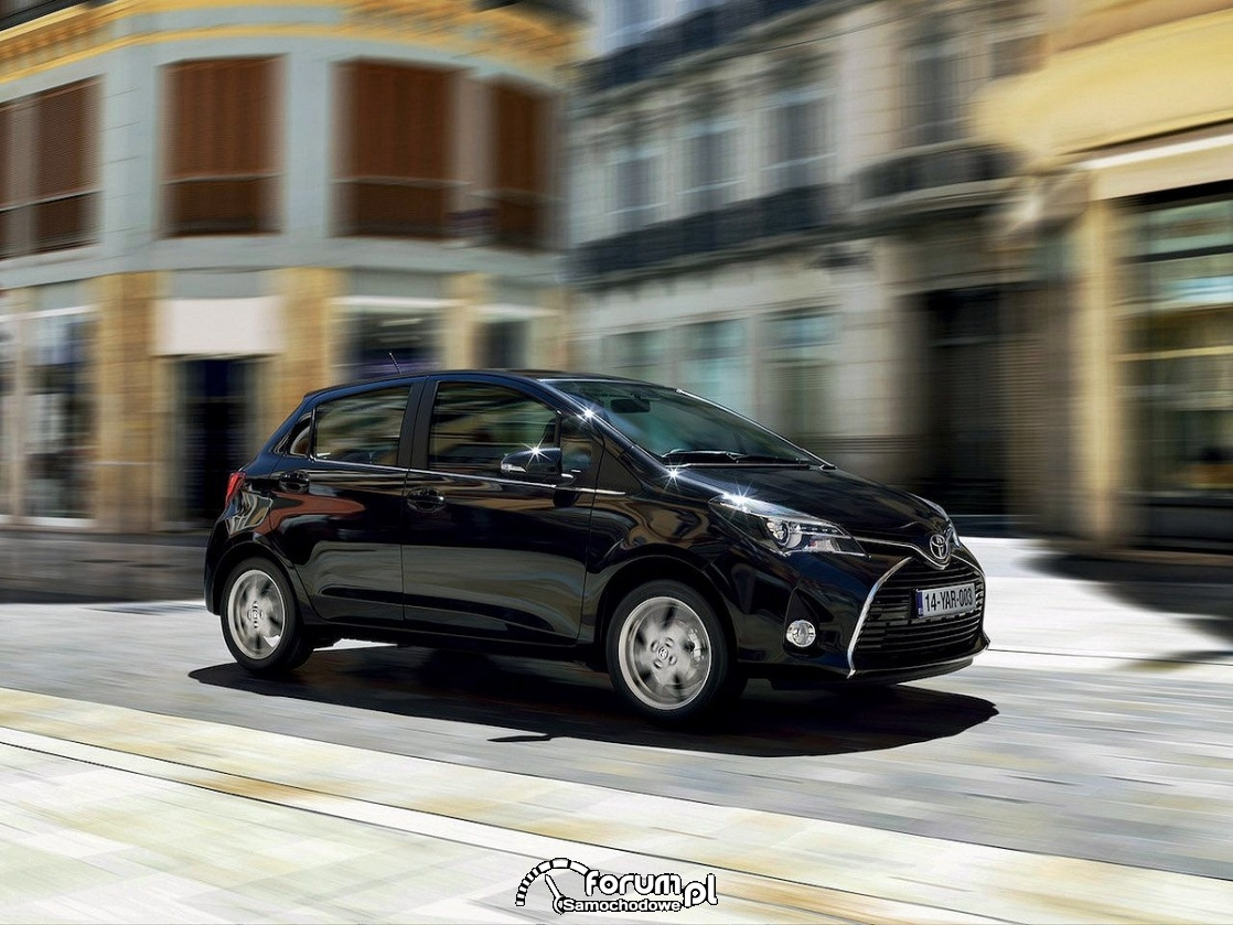Toyota Yaris facelifting, 2014 rok