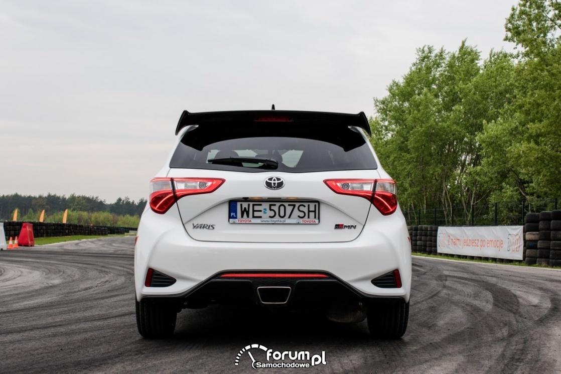 Toyota Yaris GRMN - sportowy wydech