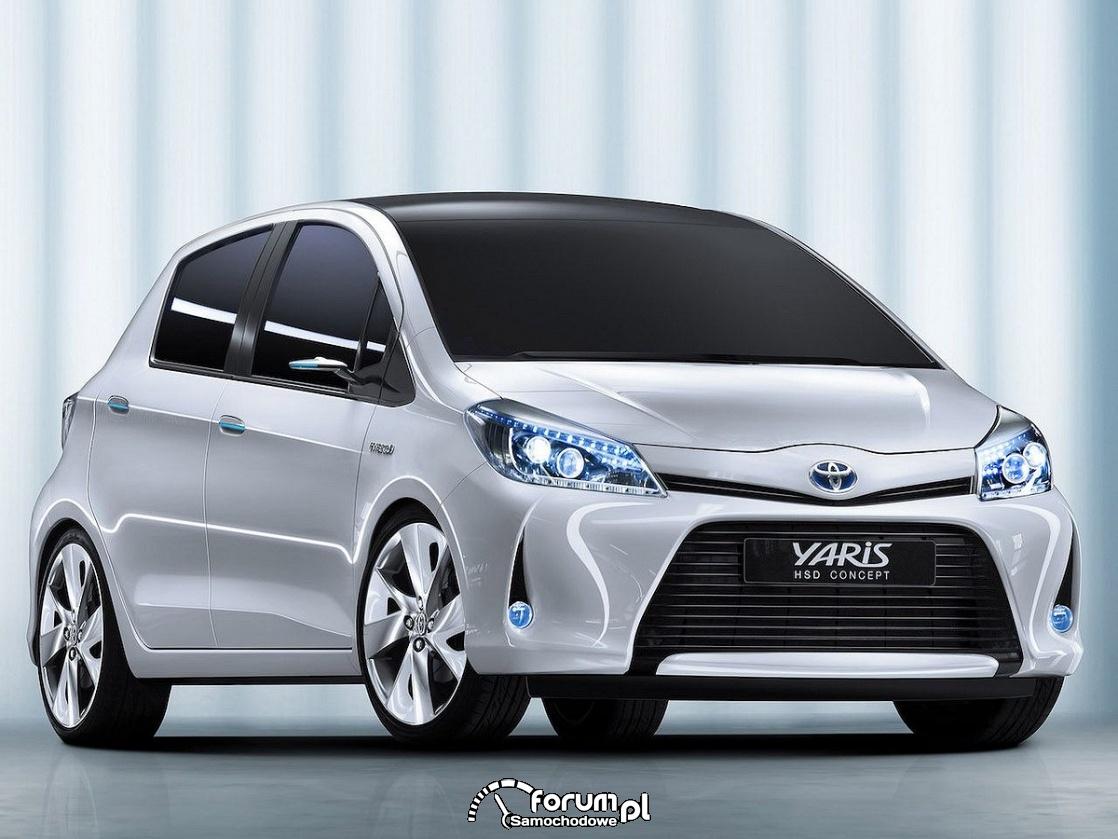 Toyota Yaris HSD concept, 2011 rok