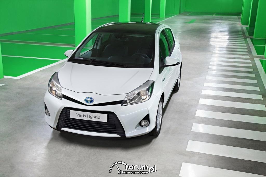 Hybrydowa Toyota Yaris na polskim rynku