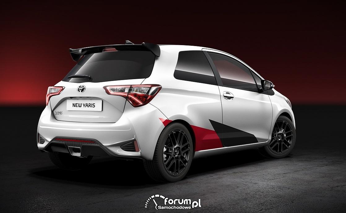 Toyota Yaris Sport 210KM, tył