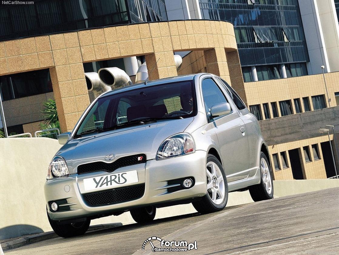 Toyota Yaris t-sport, 2001 rok