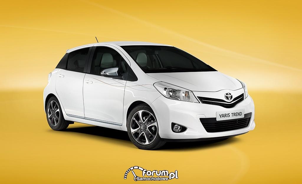 Toyota Yaris Trend, przód