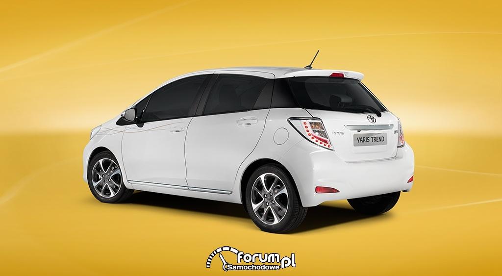 Toyota Yaris Trend, tył
