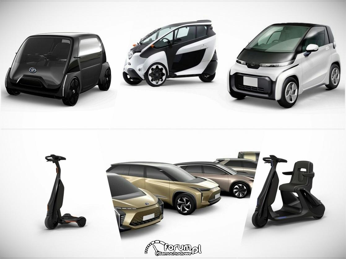 Toyota pokazała 6 modeli elektrycznych - rewolucja w bateriach