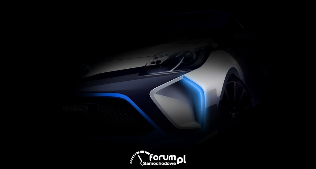 Yaris Hybrid-R, przednie wloty powietrza