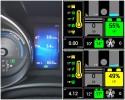 Średnie spalanie hybrydy na dystansie 5,4 km - Toyota Auris TS