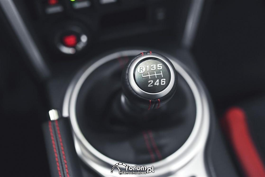 Gałka zmiany biegów, 6-biegów, Toyota GT86