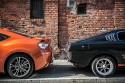GT86 i Celica, porównanie tyłu