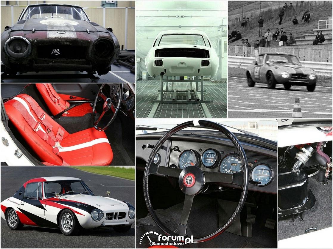 Toyota Sports 800, historia i wygląd