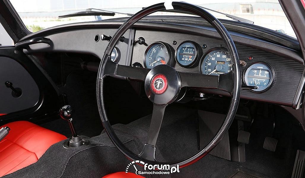 Wnętrze, zegary i kierownica, Toyota Sports 800