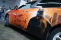 Batman, aerografia na samochodzie