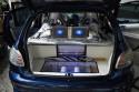 Peugeot 206, zabudowa bagaznika Alpine