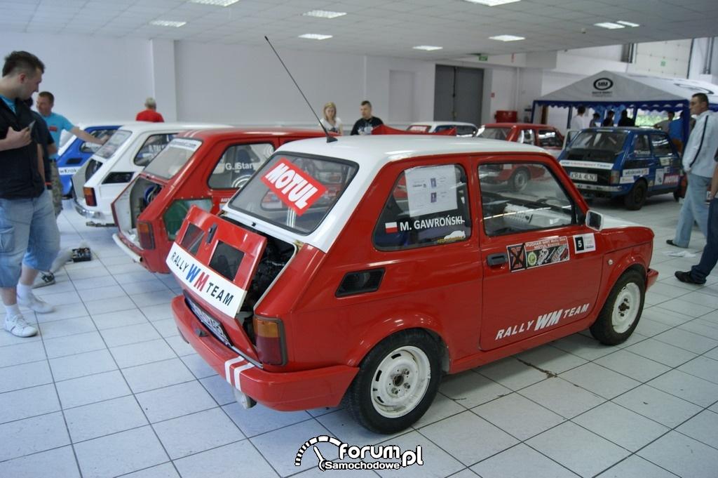 Rajdowe maluchy, Fiat 126p, 2