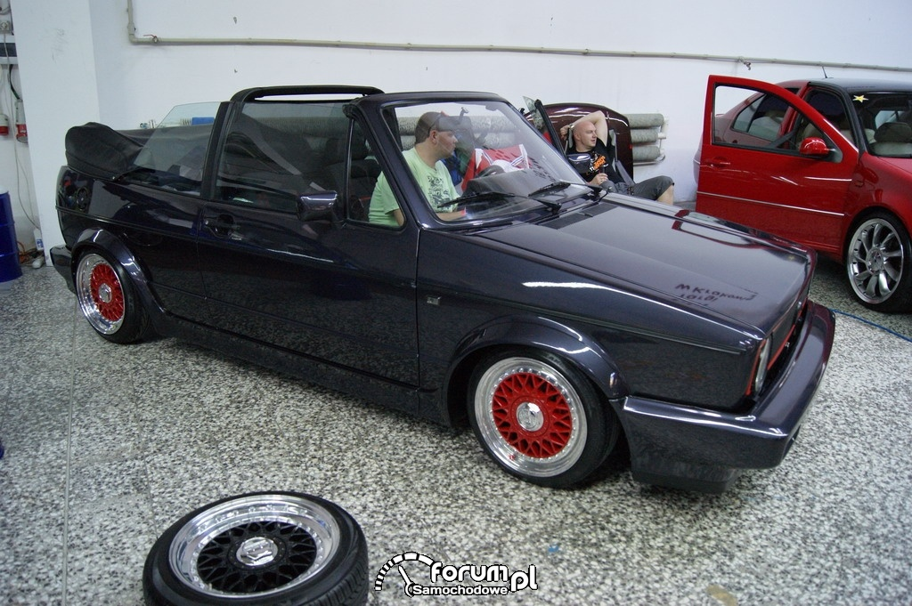 Volkswagen Golf I, Karmann