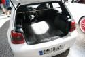 Volkswagen Golf IV, panele w bagażniku